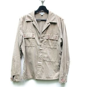 Democracy | Army Green Utility Button Down Shirt